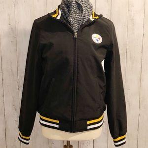 Steelers NFL Team Apparel Zip Jacket - Super Cute!